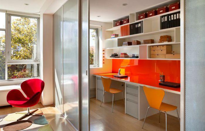 Стильный способ разделить комнату на зоны.