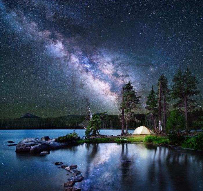 Замечательное звездное небо.