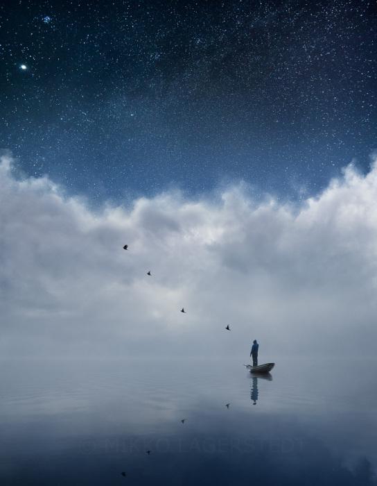 Замечательный снимок великолепного звездного неба.