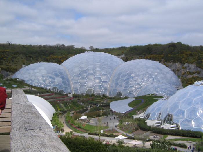 Замечательный ботанический сад в Великобритании.