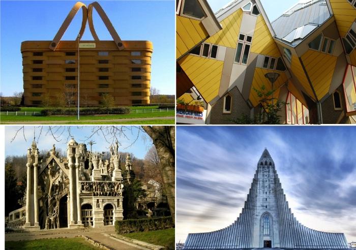 Самые необычные постройки в мире.
