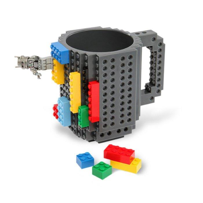 Кружка для любителей конструктора LEGO.