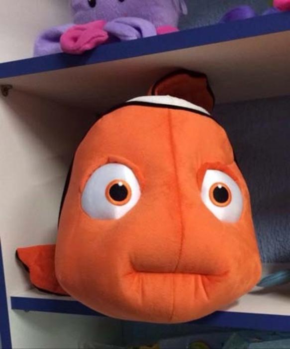 Депрессивная рыбка.