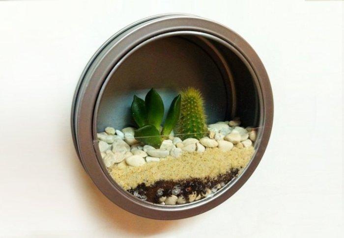 Шикарный способ добавить немного зелени на кухню.