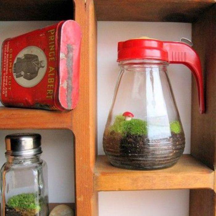 Необычный способ украсить кухню.
