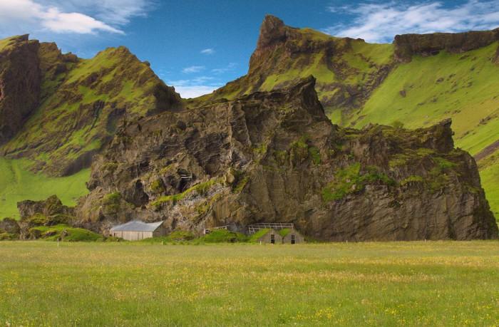 Великолепные дома в Исландии.