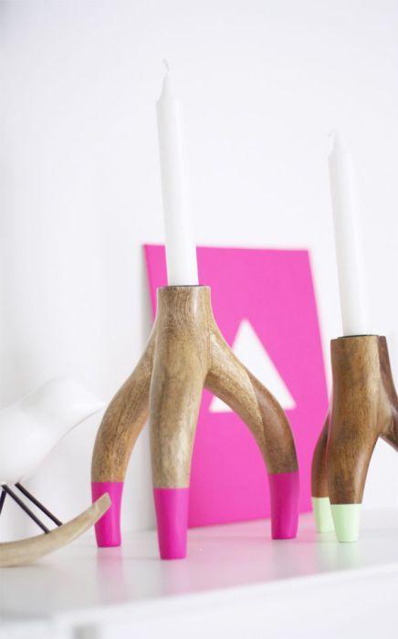 Великолепное применение обычной деревянной коряги.