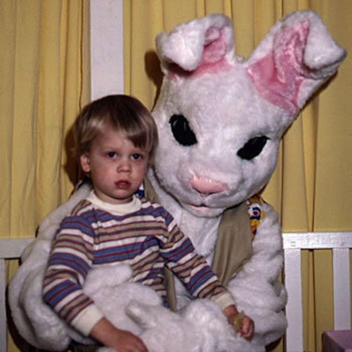 Страшный плюшевый кролик.