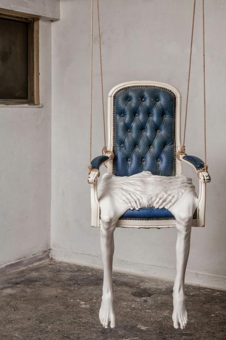 Невероятно странный дизайн стула.