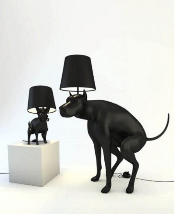 Лампы, вызывающая ощущение легкого дискомфорта.
