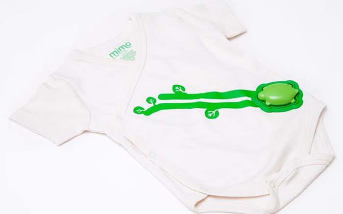 Умная детская одежда Mimo.