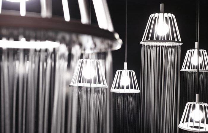 Плачущая лампа-душ от Oki Sato.