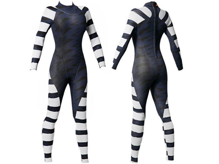 Костюм Diverter wetsuit для отпугивания акул.