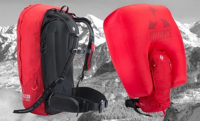 Black Diamond Jetforce - ранец со встроенной подушкой безопасности.