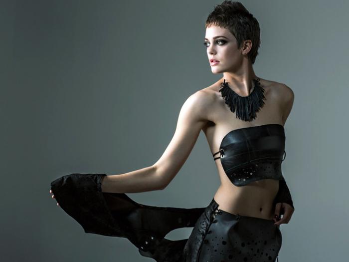 Эко-коллекция модной одежды от Бриджид Оэстерлинг.