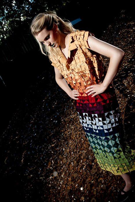 Платье-конструктор от голландских дизайнеров.