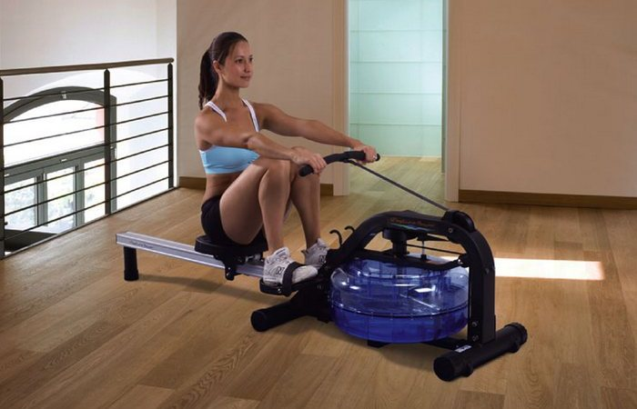 Домашний гребной фитнес-тренажёр First Degree Fitness Newport.