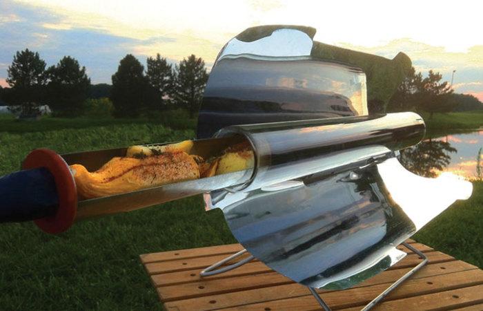 GoSun Solar Cooker - гриль на солнечных батареях.