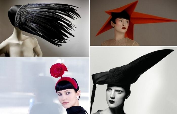 Невероятные головные уборы от шляпника принцессы Дианы.