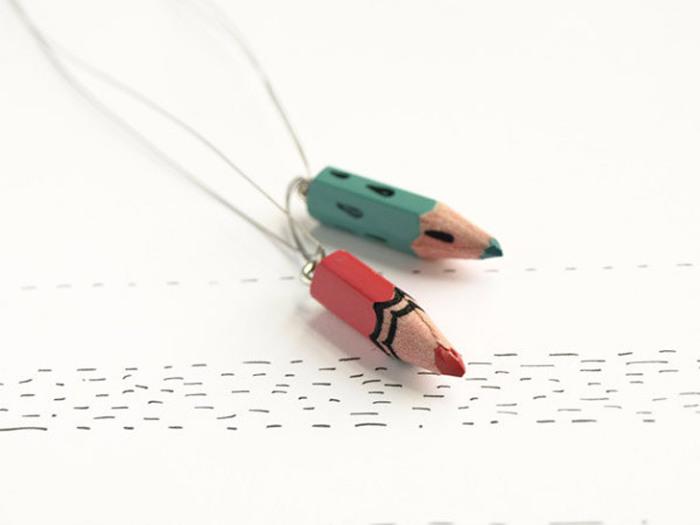 Цветные карандаши как материал для креатива.