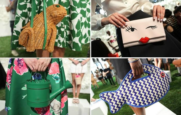 Необычные дамские сумки к модному сезону весна-лето 2015
