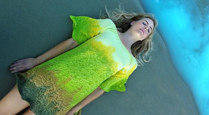Неземные платья Leila Hafzi.