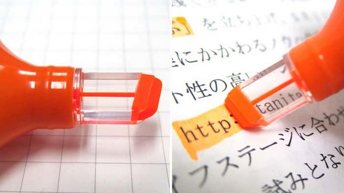 Прозрачный маркер See highlighter.