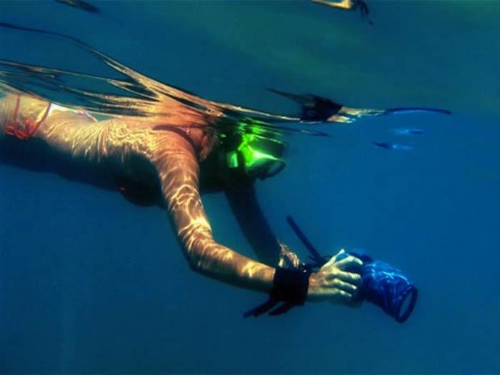 Подводные съёмки с OUTEX - реальность.
