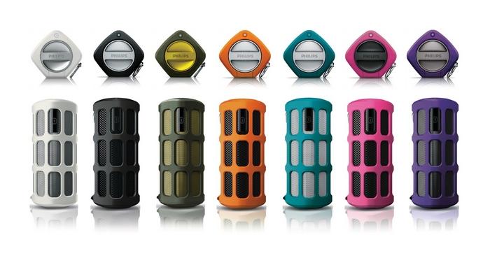 Philips ShoqBox: многообразие цвета.