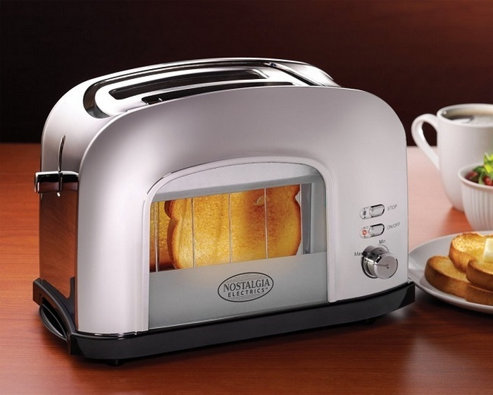 Ретро-тостер.