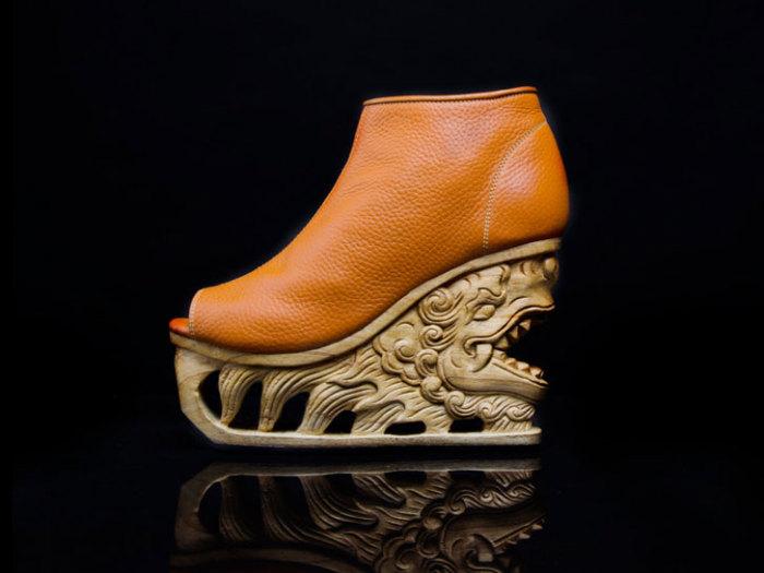 Вьетнамские мотивы на стильной обуви