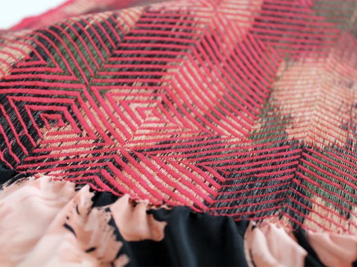 Сакиори - плетение из тряпичных остатков