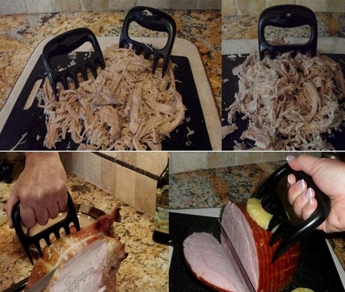 Шредер когти - универсальное приспособление для разделки мяса