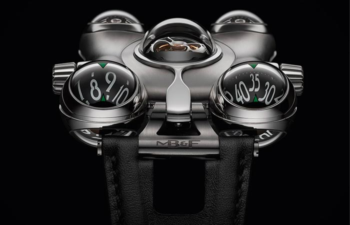 HM6 Space Pirate Watch - швейцарский хронограф, вдохновлённый мангой.