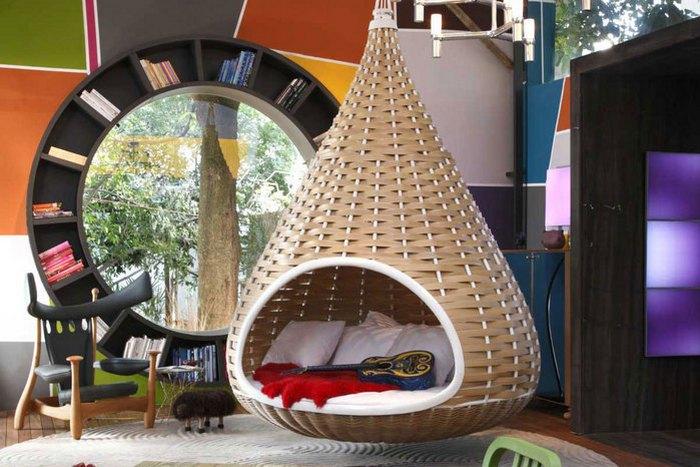 Креатив в интерьере: подвесные кровати.