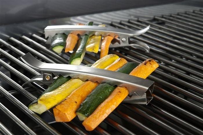 Заколки для жарки овощей.