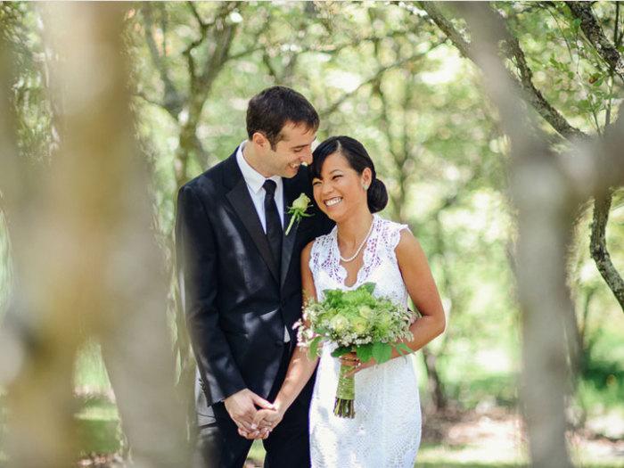Рукодельница Чи Крнета с супругом.