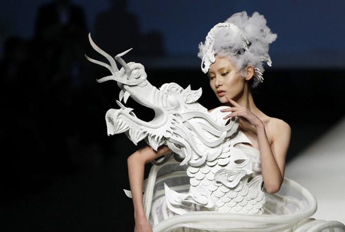 Китайские традиции в высокой моде.