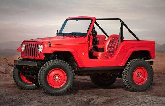 Jeep Shortcut.