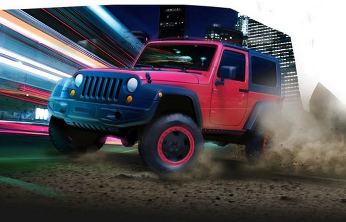 Jeep Wrangler Slim.