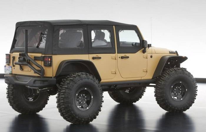 Jeep Wrangler Sand Trooper II.