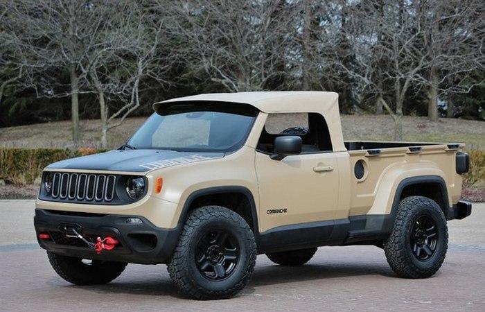 Jeep Comanche.