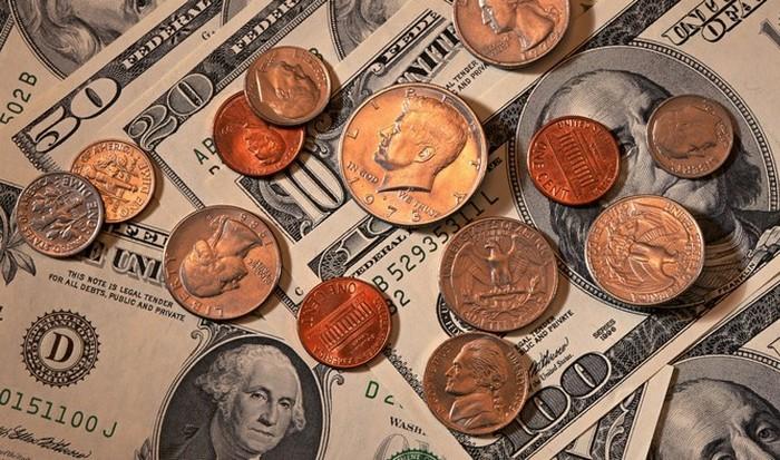 Замена банкнот на монеты.