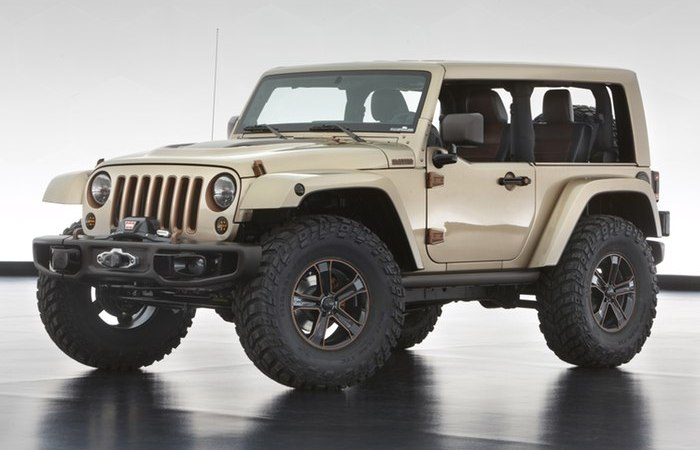 Jeep Wrangler Flattop.