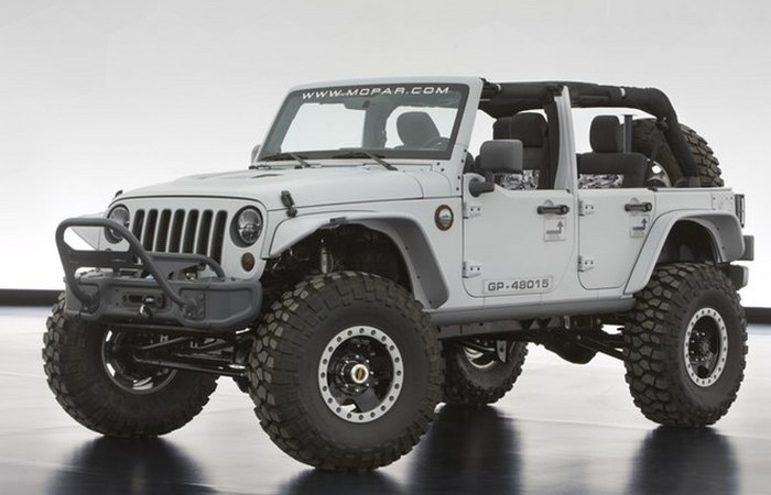 Jeep Wrangler Mopar Recon.