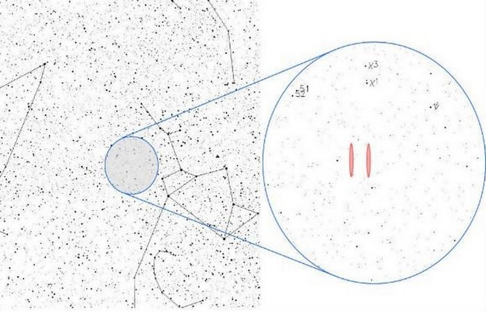 Узкополосный сигнал из космоса.