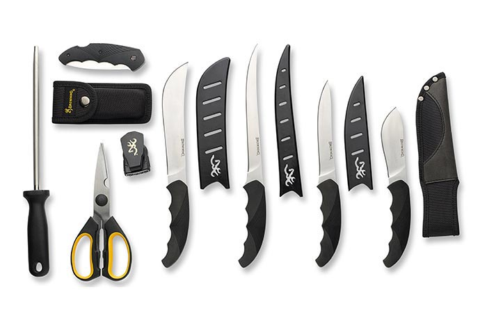 Подставка уже есть, тогда купи ножи.