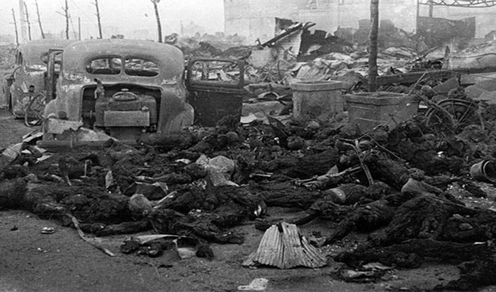 Союзные войска почти уничтожили Токио.