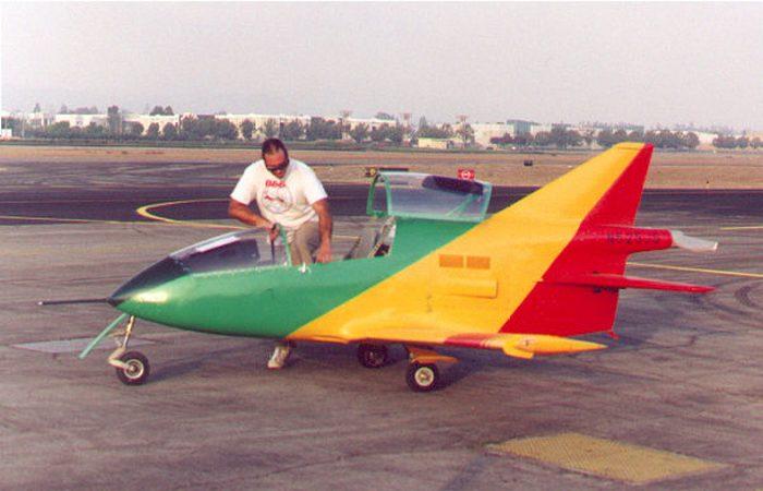 Самый маленький в мире реактивный самолет.