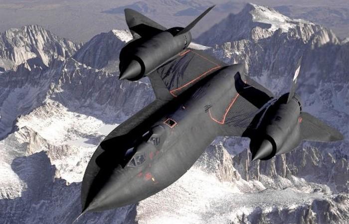 Lockheed SR-71.
